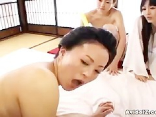 Japaneses with big boobs and tits fucked uncensored video