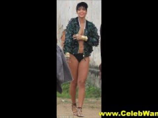 Rihanna Nude and Topless Perfect Body