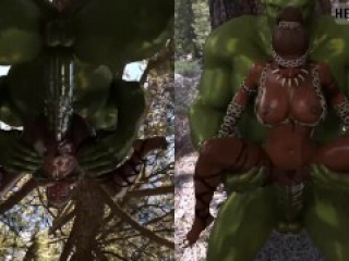 Rahele and the Orcs Part 1 (Uncensored)