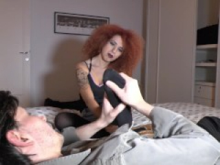 Lady Demonique - Italian Mistress Foot - Extra Night Opportunity TOP VIDEO
