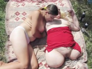 Sexy triple amputee naked outdoor lesbian fun blonde brunette shaved
